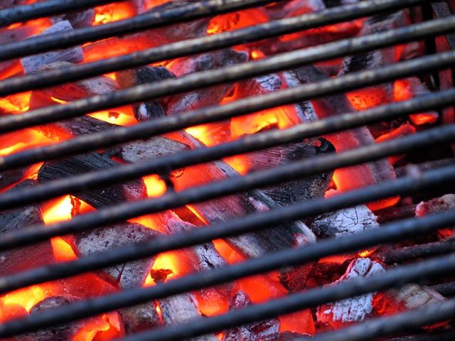 炭火のイメージ