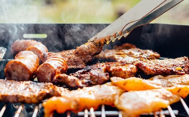 BBQでの肉の焼き方のイメージ