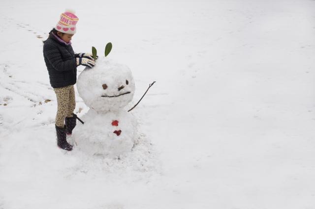 雪だるまのイメージ