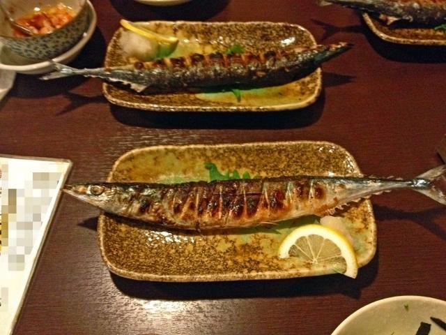 秋刀魚の塩焼きのイメージ