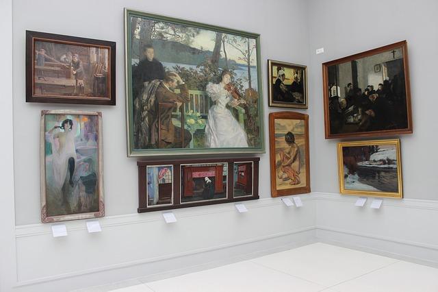 美術館鑑賞のイメージ